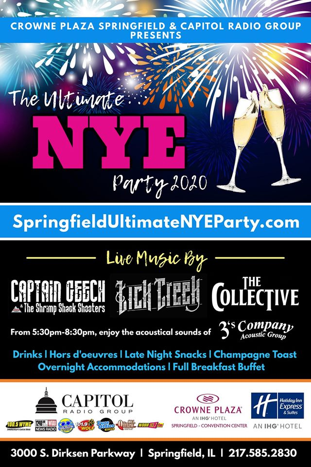 The Ultimate New Year's Eve Party 2020 | Newsradio 1240 ...